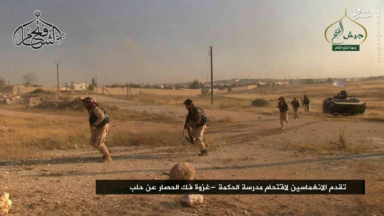 حمله گسترده تروریستها برای شکستن محاصره شرق حلب/پیشروی ارتش در غوطه شرقی دمشق/