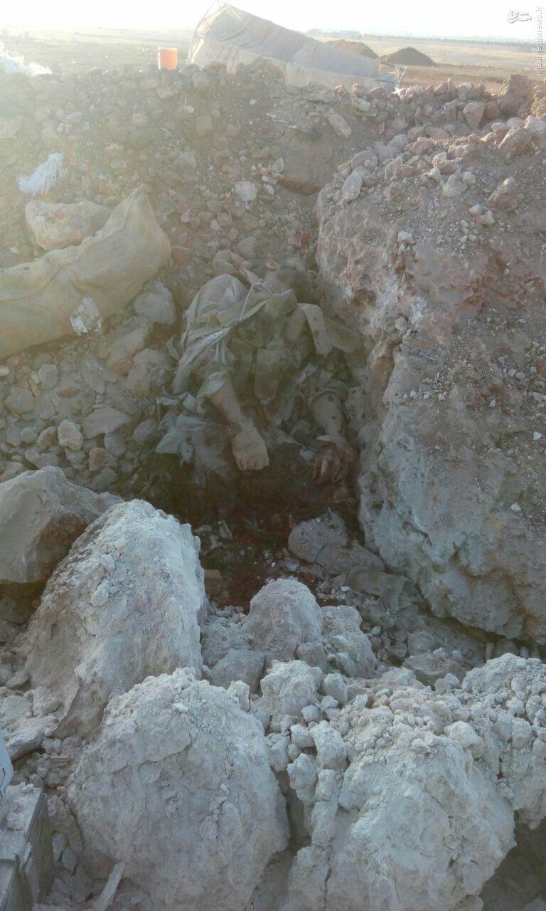 تلفات سنگین تروریستها در حلب+عکس