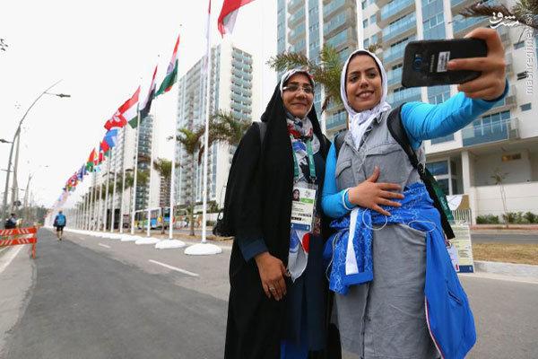 گزارش سایت بازی ها از حال و هوای المپیک با عکس تیرانداز ایرانی
