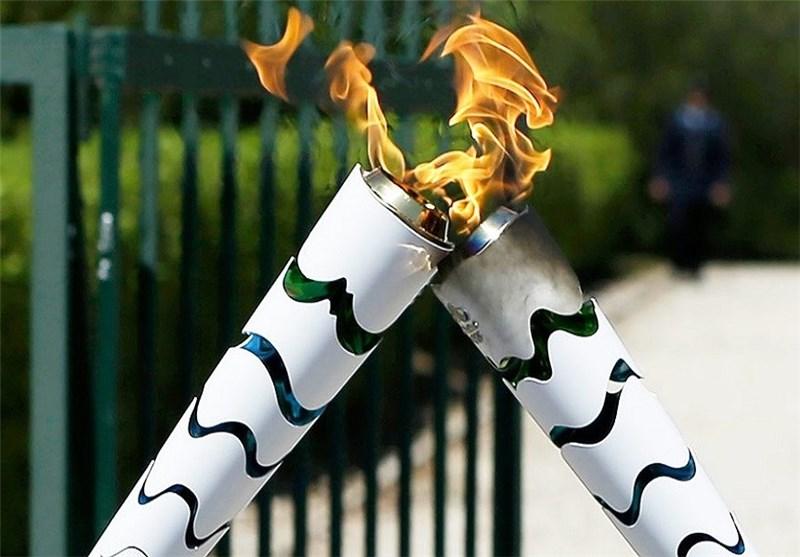 مشعل المپیک بالاخره به ریو رسید +عکس