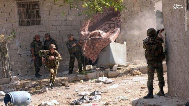 عملیات ارتش سوریه در غوطه شرقیه دمشق