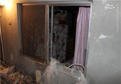 انفجار یک واحد مسکونی در بندرانزلی +تصاویر