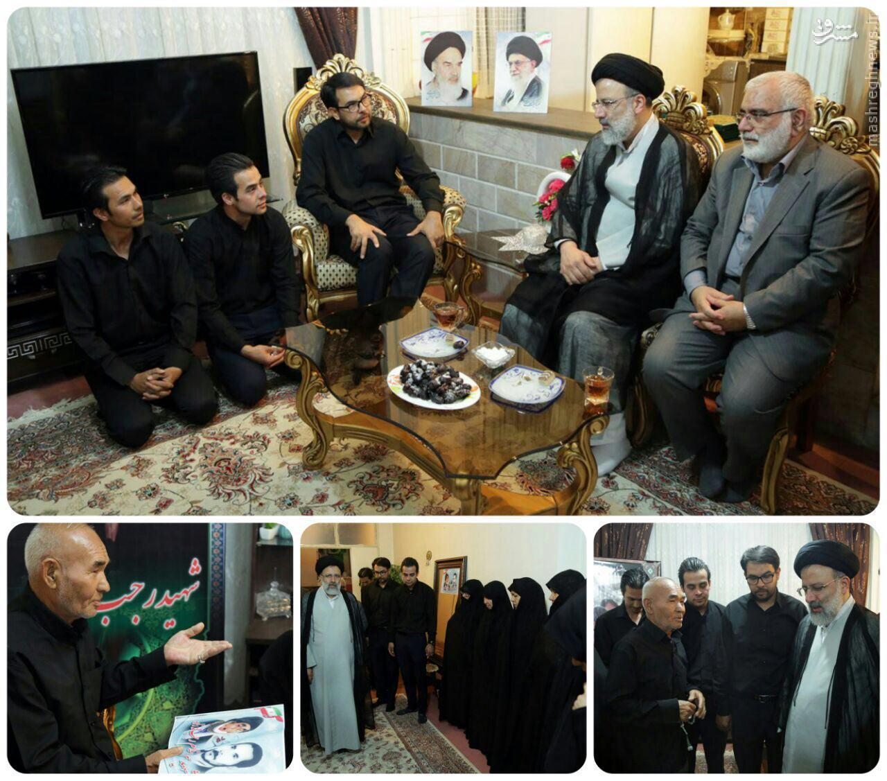 دیدار تولیت آستان قدس رضوی با خانواده شهید حاج رجب محمدزاده