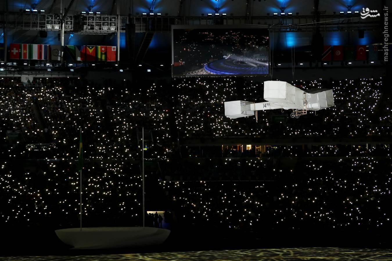 آغاز افتتاحیه المپیک سی و یکم/بزرگترین باغ جهان به تصویر کشیده شد +عکس