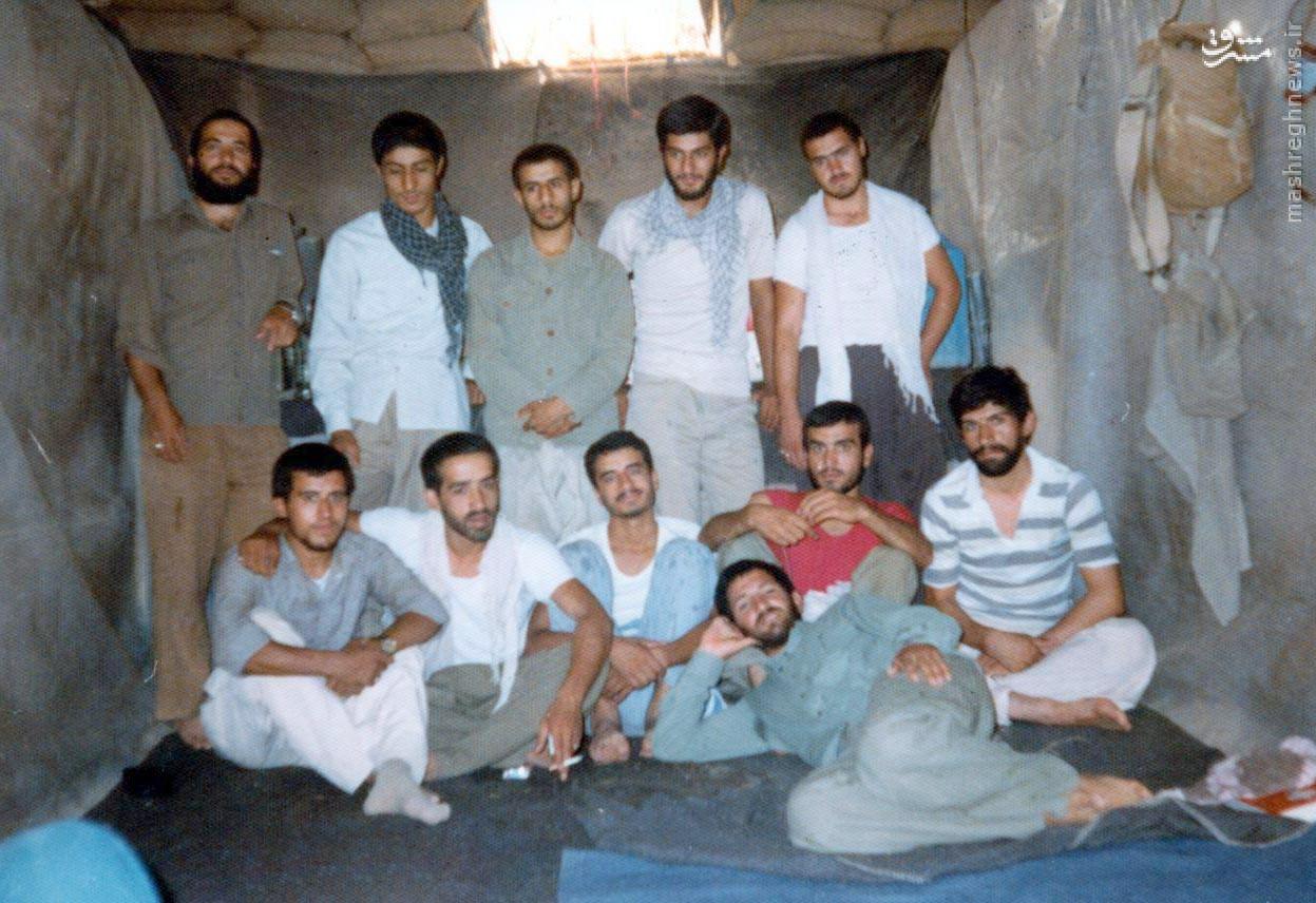 ابداع شهید برای تهویه سنگر + عکس