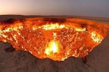 فیلم/ دروازۀ جهنم در ترکمنستان