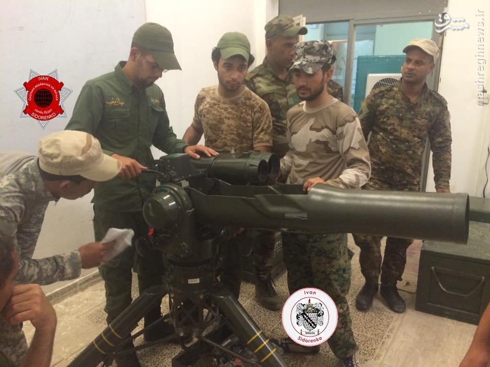 آموزش کار با موشک ضد زره ایرانی برای رزمندگان عراقی+عکس