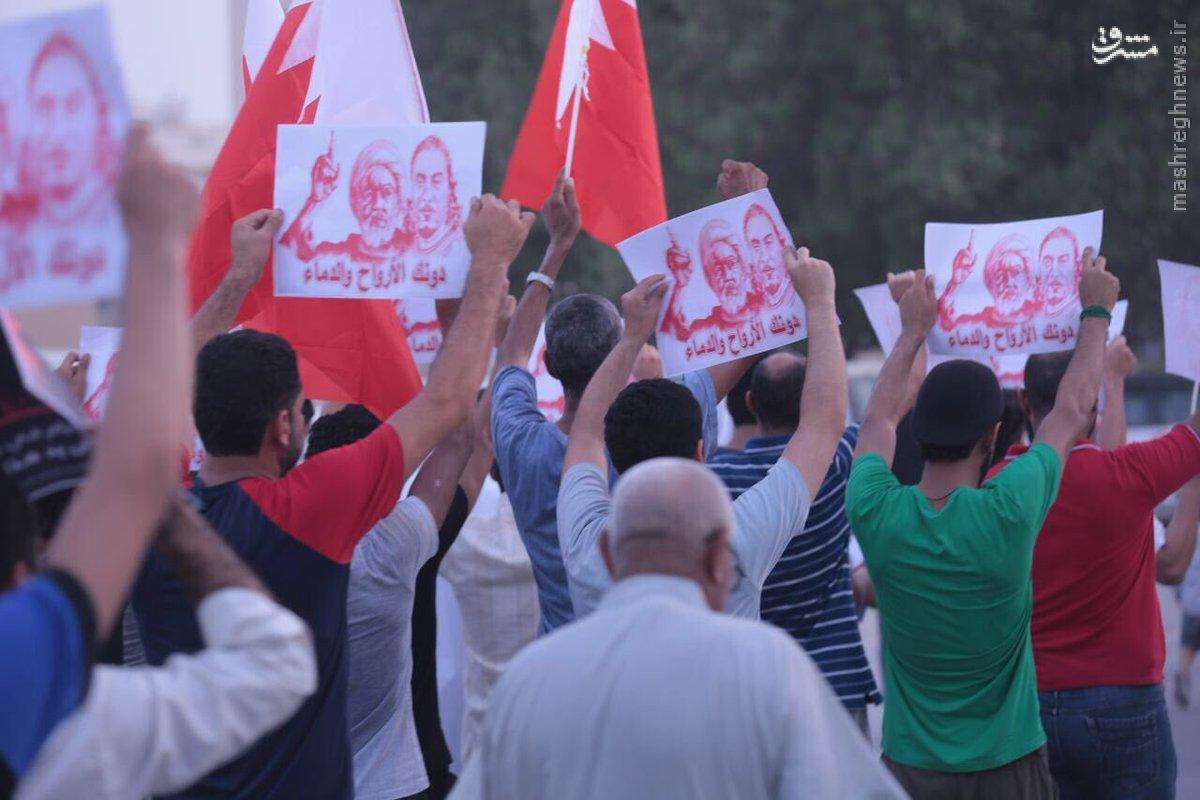 اعتراضات شبانه روزی بحرین را فراگرفته است+عکس