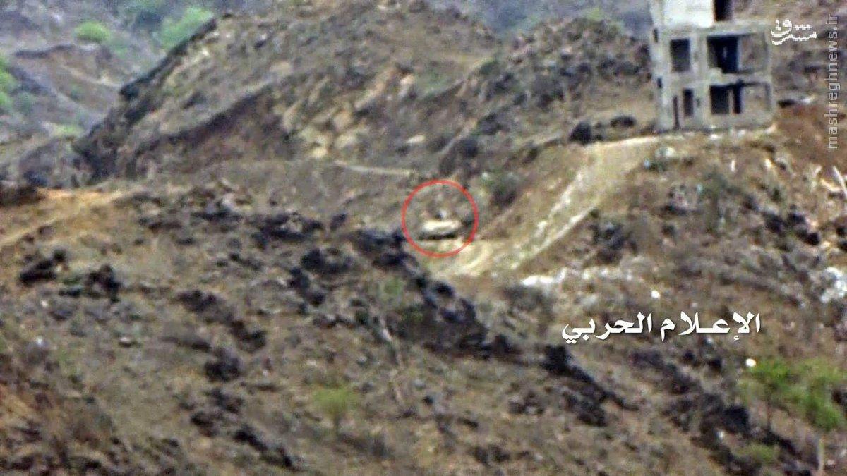 شکار تانکهای ارتش عربستان در خاک این کشور+عکس و فیلم