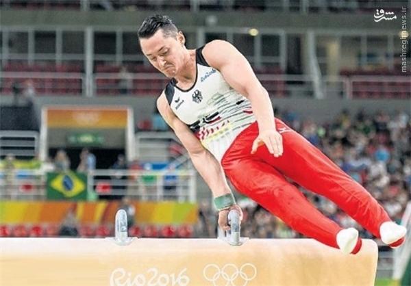 ورزشکار فداکار المپیک +عکس