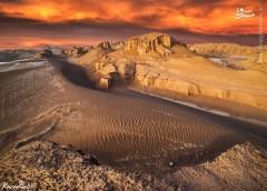 عکس/ گرم ترین نقطه زمین در کرمان