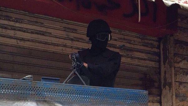 سیاهپوشهای نقابدارِ حزبالله راهی حلب شدند +عکس