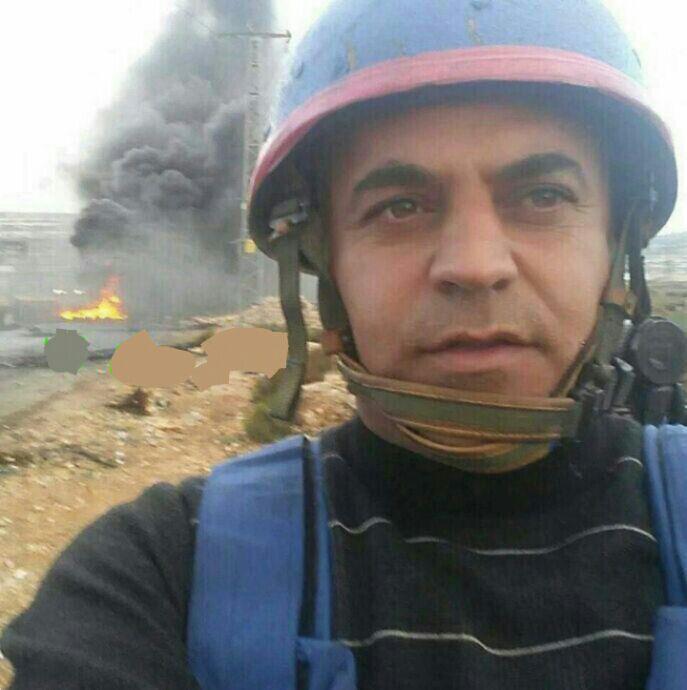 دستگیری خبرنگار صداوسیما توسط صهیونیستها +عکس