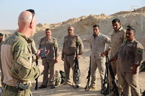 آموزش مرزبانان عراقی توسط دانمارک+عکس