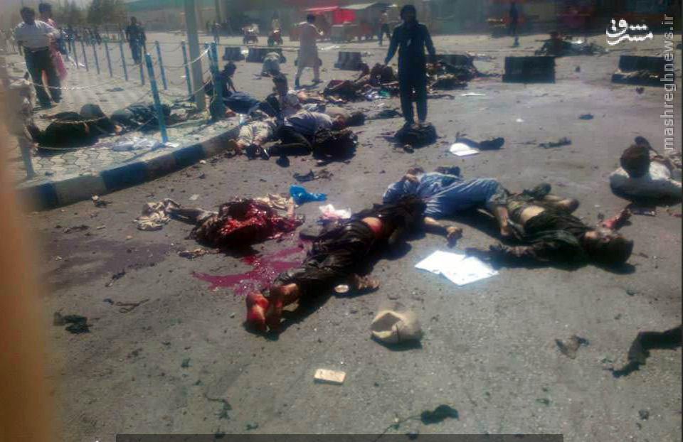 انفجار در افغانستان/ آخرین اخبار از حمله انتحاری به کابل +عکس(+18)