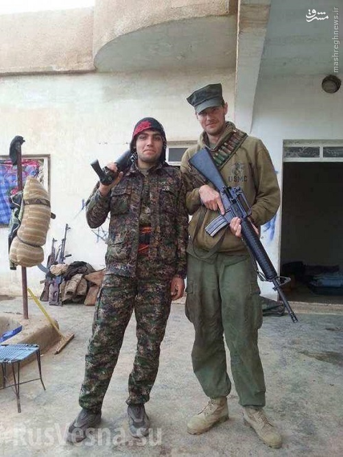 کشته شدن 3 آمریکایی در منبج+عکس