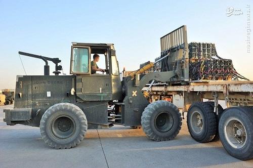 کمک نظامی انگلیس به کردستان عراق+عکس