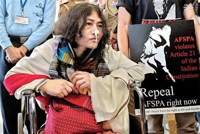 پایان یک اعتصاب غذای 16 ساله در هند +عکس