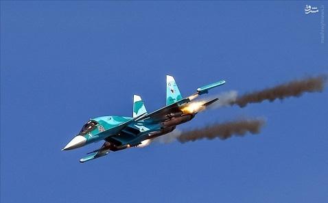 نابودی دو کاروان تسلیحاتی تروریستها در ادلب+عکس