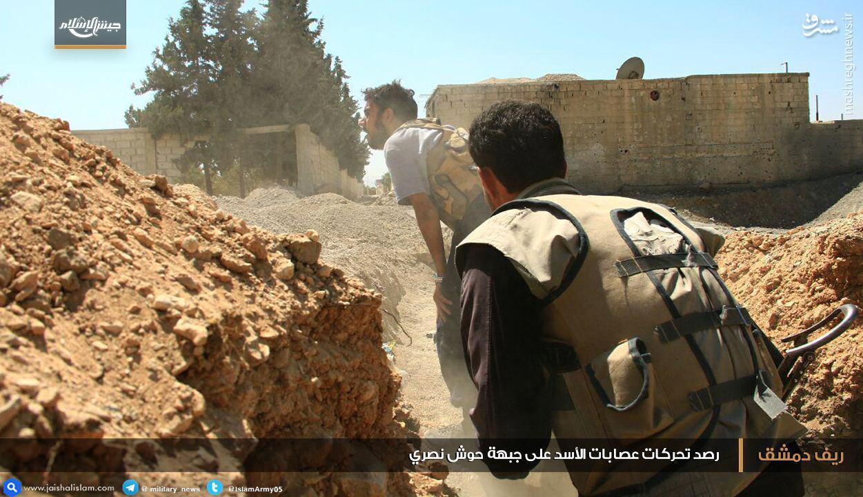 ادامه نبردها در حلب/ارتش در آستانه دروازه های دوما/عملیات تروریستها در القلمون شرقی/آتش زیر خاکستر جبهه جنوب سوریه