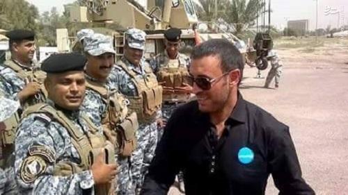 هدیه 5 میلیون دلاری خواننده مشهور عرب به حشدالشعبی+عکس