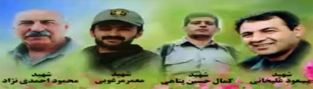 هیاهو برای اعدام قاتلان مردم + تصاویر