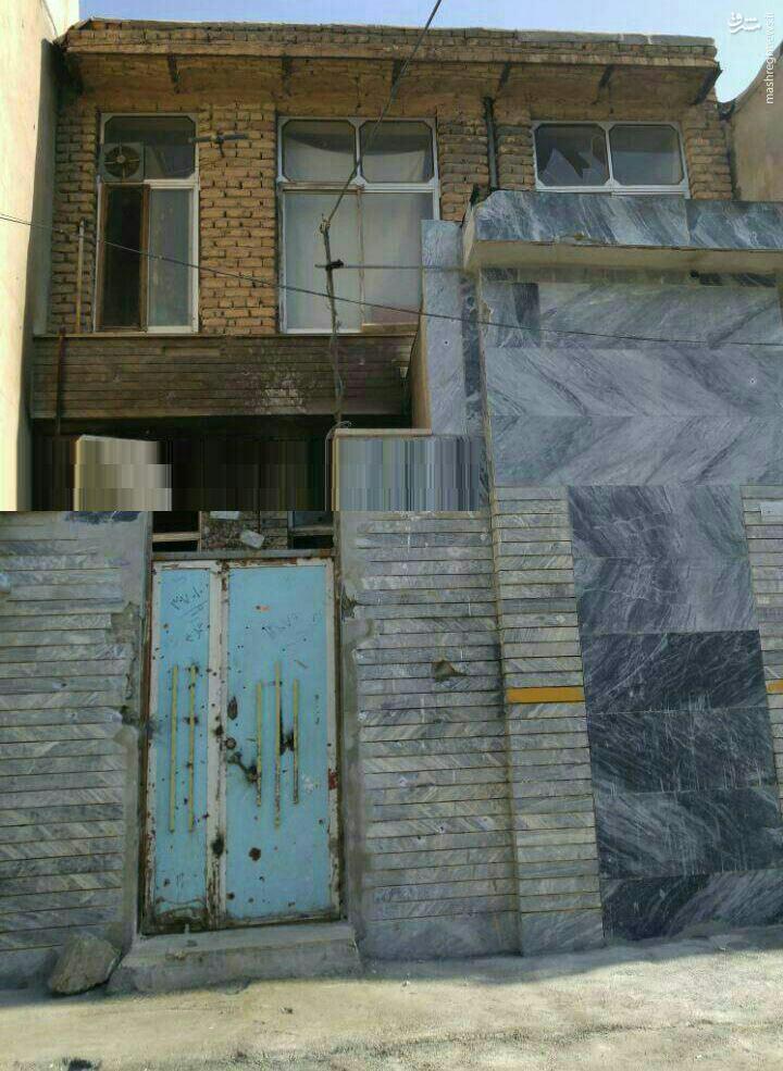 عکس/ محل اختفای تروریستها در کرمانشاه