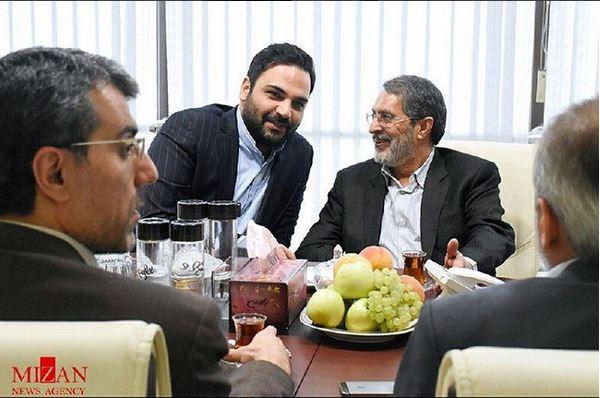 قوه قضائیه از علیخانی و ماه عسل تقدیر کرد +عکس