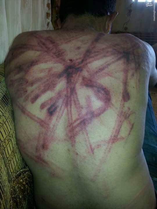 شکنجه جوانان سوری توسط معارضان میانه روی دولت!+فیلم و عکس