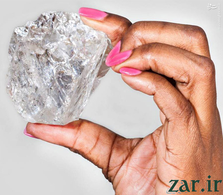 دومین الماس بزرگ جهان +عکس