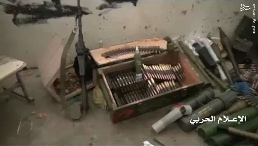 سیطره انصارالله بر مقر تیپ شیخ زاید!+عکس