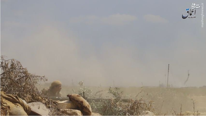 حمله داعش به شرق حلب+عکس