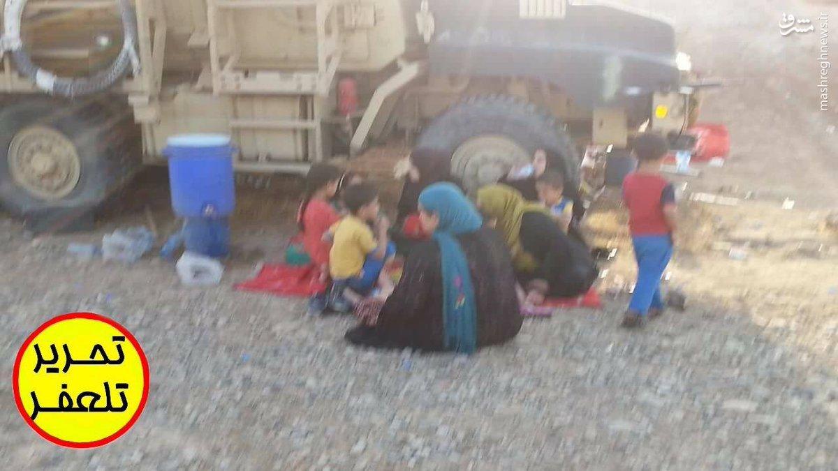 نجات صدها غیرنظامی توسط ارتش عراق+عکس