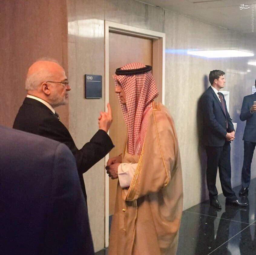 تودهنی وزیر خارجه عراق به همتای سعودی+عکس