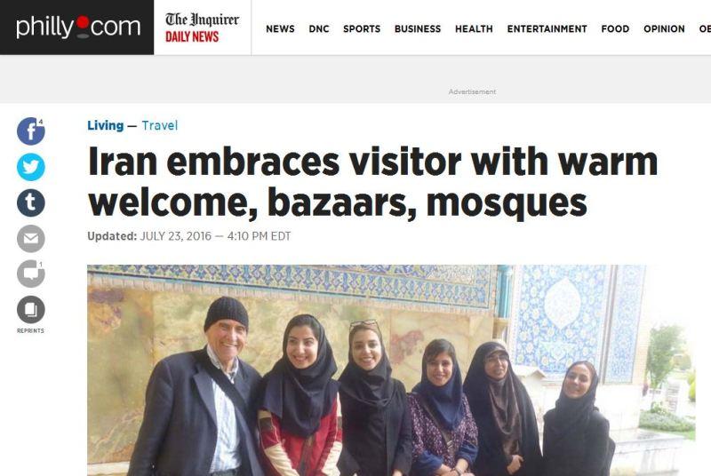 تجارب لذتبخش یک توریست آمریکایی از سفر به ایران
