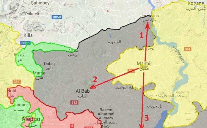 خروج تدریجی داعش از جرابلس حلب+عکس
