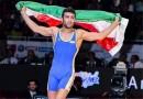 مدال برنز المپیک بر گردن حسن رحیمی/ دشت اول کشتی آزاد ایران در وزن نخست  +فیلم
