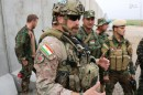 پرچم کردستان عراق بر یونیفرم نیروهای ویژه کانادایی +عکس