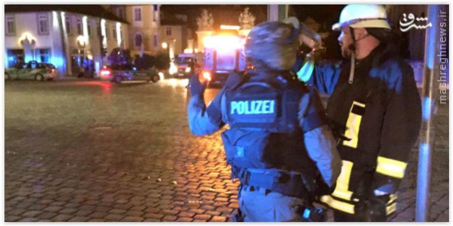 انفجار در رستورانی در «آنسباخ» آلمان یک کشته بر جا گذاشت