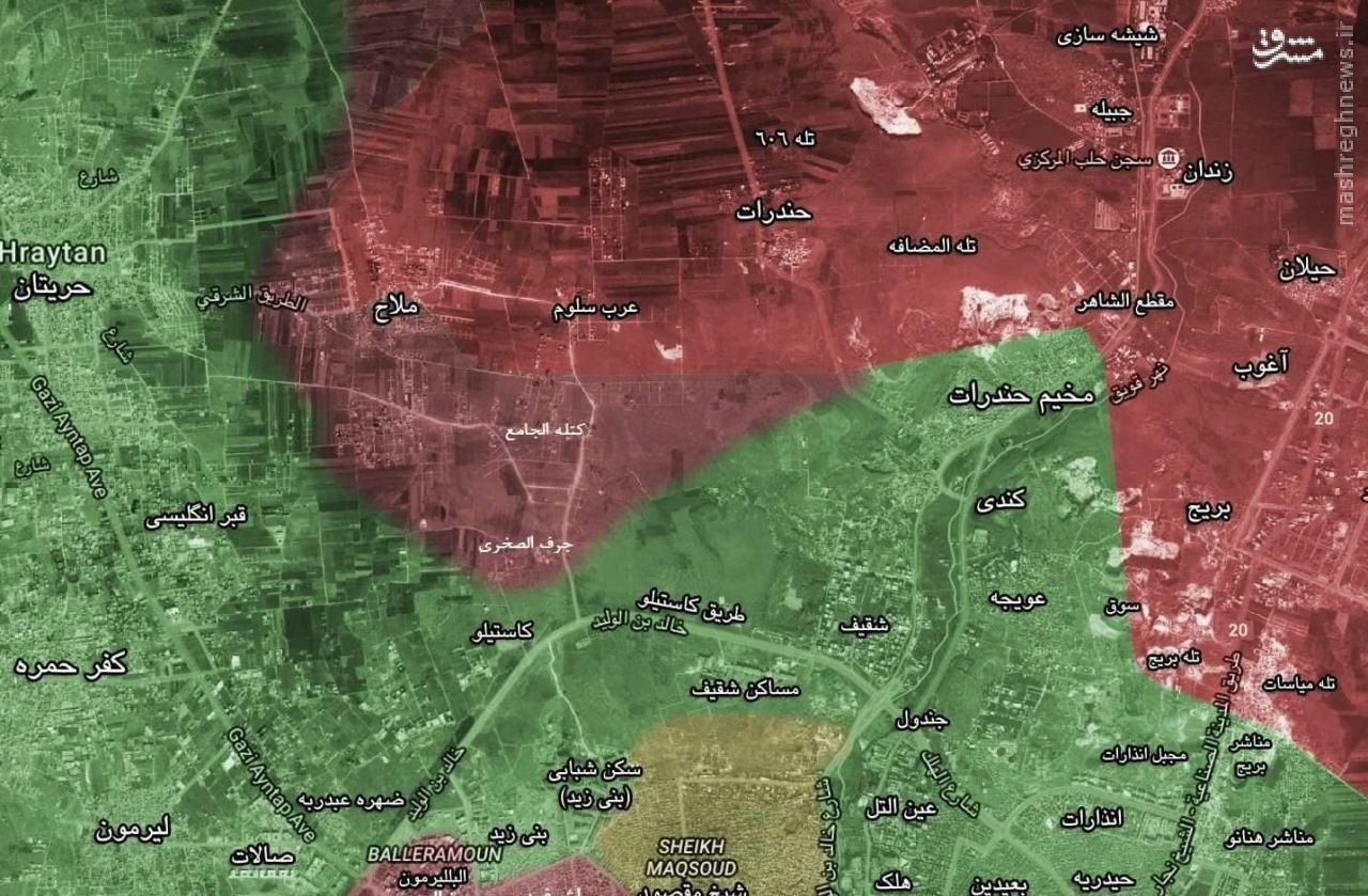 تداوم نبردها در منبج/عملیات ارتش در وادی بردی دمشق/تلفات سنگین تروریستها در غوطه شرقی/محاصره حلب 18 روزه شد!/موشکباران محلات دمشق توسط تروریستها