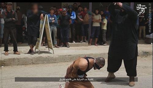 بازگشت خونین جلاد چاق داعش+عکس
