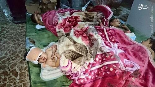 قتل عام خانواده های فراری توسط داعش+عکس