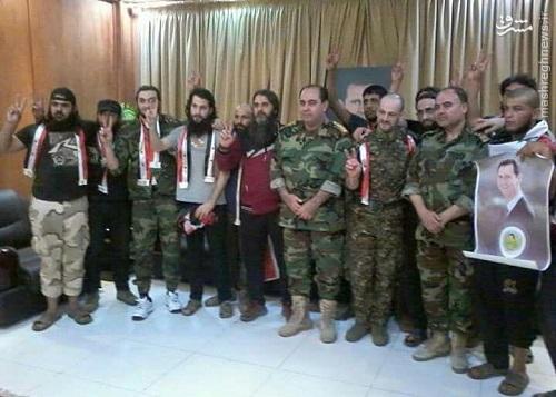 فرار هالیوودی اسرای ارتش سوریه از زندان القاعده