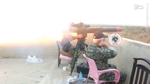 استقرار گردانهای امام علی ع در تدمر+عکس