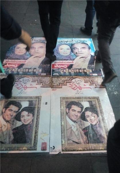 لگدمال کردن «شهرزادیها» در خیابان انقلاب تهران