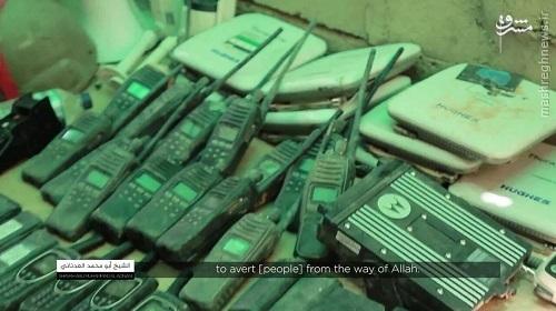 گزارش تصویری داعش از گروه جیش سوریا الجدید