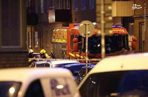 انفجاری شدید در مالمو سوئد +عکس
