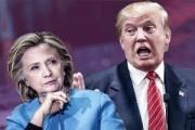 معترضان آمریکایی: ترامپ فاشیست و کلینتون جنایتکار جنگی است