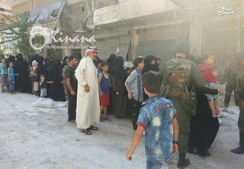 آغاز تخلیه محلات شرق حلب از غیرنظامیان+عکس