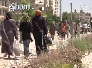 بازگشت ساکنین محله بنی زید حلب+عکس
